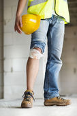 Construction accident — Stock Photo