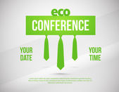 Conference illustration — Vector de stock