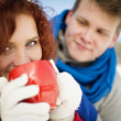 Winter love — Stock Photo