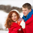 Winter love — Stock Photo #31759551