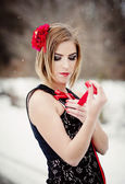 Winter mode — Stockfoto