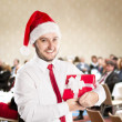 Christmas conference — Stock Photo #32926085