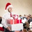 Christmas conference — Stock Photo #32926095