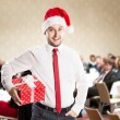 Christmas conference — Stock Photo #32926111