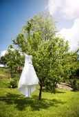 Bridal dress — Stock Photo