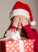 Christimas suprise — Stock Photo