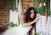 Countryside bride — Photo
