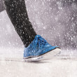 Man running in winter — Stock Photo #39336233