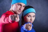 пара фитнеса — Стоковое фото