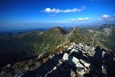 Mountains landscape in Slovakia — Stock Photo