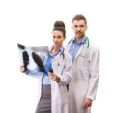 A medical team of doctors — Photo