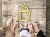 Conceito de casa — Fotografia Stock
