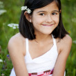 Outdoor portrait of little girl — Stock Photo #44509099