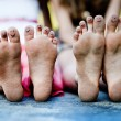Funny feet — Stock Photo