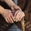 Helping hands — Stock Photo