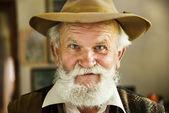 Boer met baard — Stockfoto