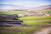 Countryside landscape — Stockfoto