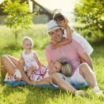 Family spending time — Stock Photo #48399405