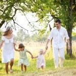 Happy family spending time — Stock Photo #48401601