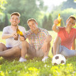 Friends spending free time together — Stock Photo #49932085