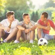 Friends spending free time together — Stock Photo #49932125