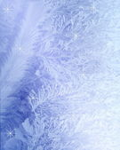 Christmas background with snowflakes. — Foto de Stock