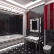 Luxurious modern bathroom — Stock Photo #17868993
