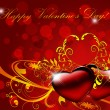 Stock Photo: Valentines background.Card.