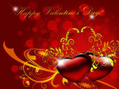 Valentines background.Card. — 图库照片