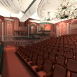 Luxury audience hall — Stock Photo
