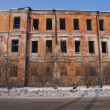 Stock Photo: Old dilapidated building.