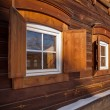 Old wooden house in the Irkutsk city — Stock Photo #40325919