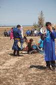 şaman olkhon üzerinde toplama — Stok fotoğraf