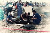 Xamãs de sacrifício em olkhon — Foto Stock