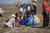 Gathering of shamans on Olkhon — Stock Photo