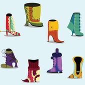 Women shoes — Stock Vector