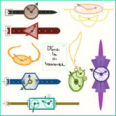 Watches — Stock Vector