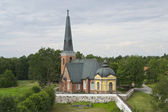 Swedish old church — Stock Photo
