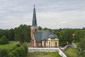 Swedish old church — Stock Photo