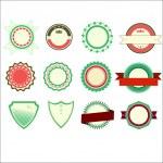 Badges set — Stock Vector