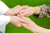 Caring hand — Stock Photo