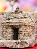 Photo of the little stone cottage — Zdjęcie stockowe