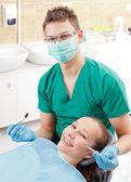Periodic dental screening — Stock Photo
