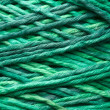 Royalty-Free Stock Photo: Green yarn roll