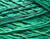 Rouleau de fil vert — Photo