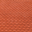 Royalty-Free Stock Photo: New red roof tiles