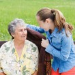 Elderly care — Stock Photo #25496431