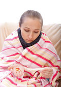 How to control your body temperature — Stock Photo