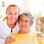 Elderly home care — Stock Photo #34499953