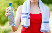 Hydration during workout — Foto de Stock
